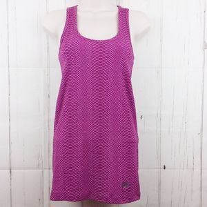 Under Armour SM Heatgear Fitted Tank Top Purple